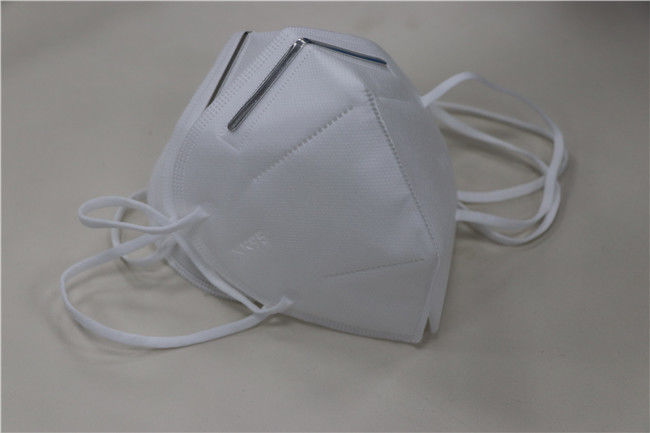 Anti Haze Pm2.5 Foldable Face Mask Non - Woven Fabric Personal Protective / Public